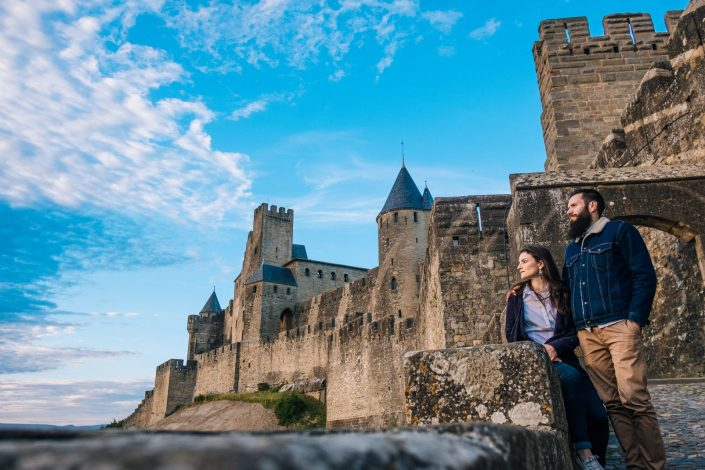 Love session cite de carcassonne ©Ludo Charles