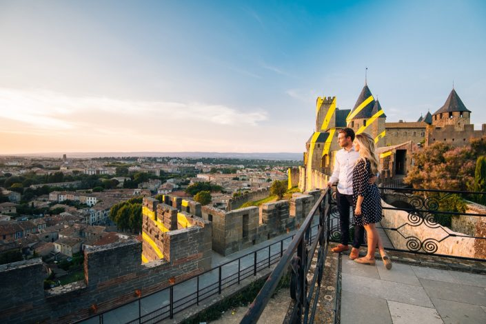 Love session cité de carcassonne ©Ludo Charles